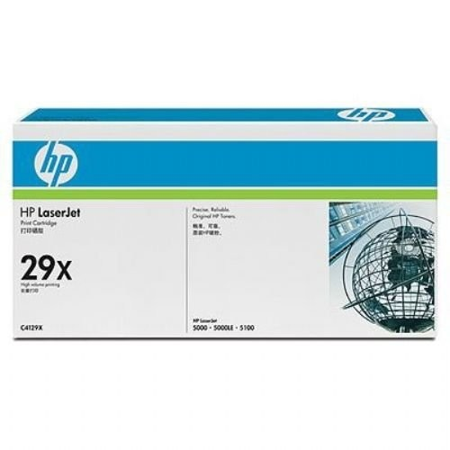Genuine HP 29X Black Toner Cartridge (C4129X)