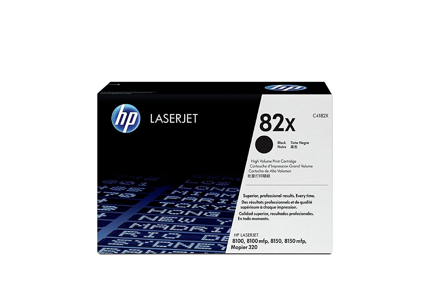 Genuine HP 82X Black Toner Cartridge (C4182X)