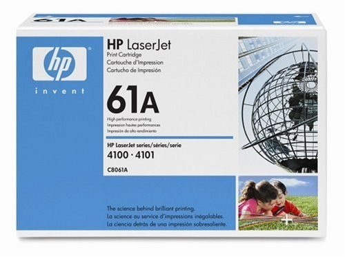 Genuine HP 61A Black Toner Cartridge (C8061A)