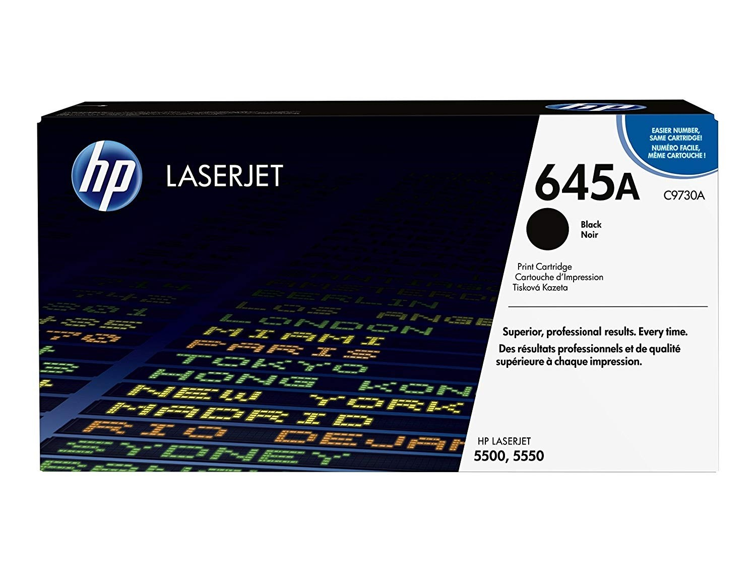 Genuine HP C9730A Black Toner Cartridge (C9730A)