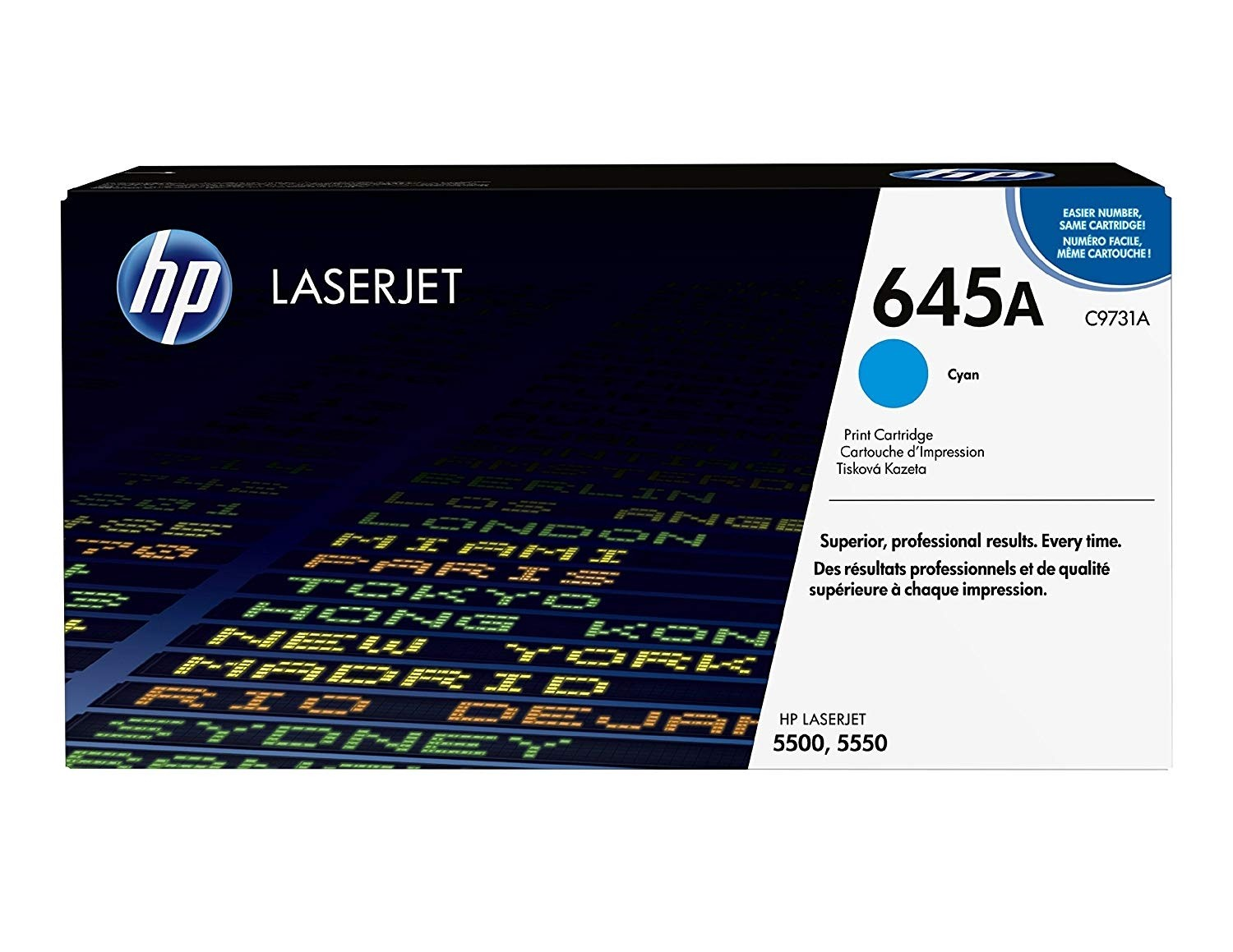 Genuine HP C9731A Cyan Toner Cartridge (C9731A)