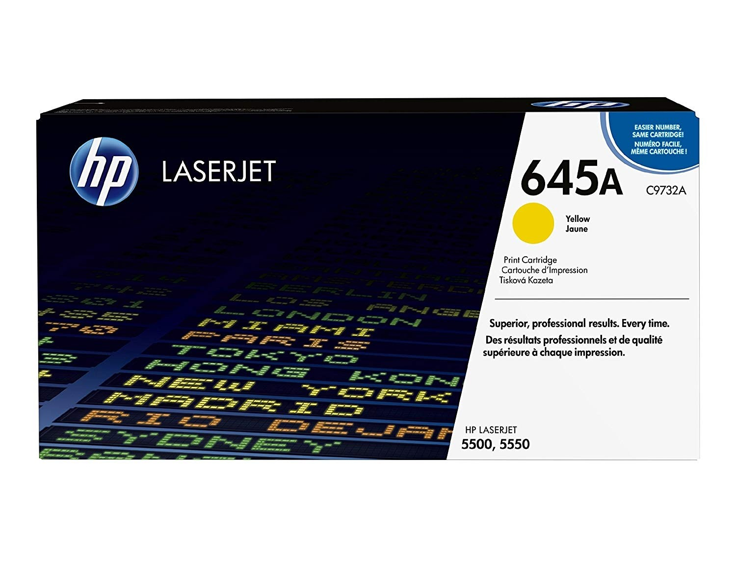 Genuine HP C9732A Yellow Toner Cartridge (C9732A)