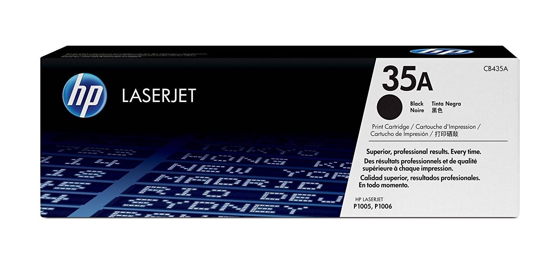 Genuine HP 35A Toner Cartridge (CB435A)