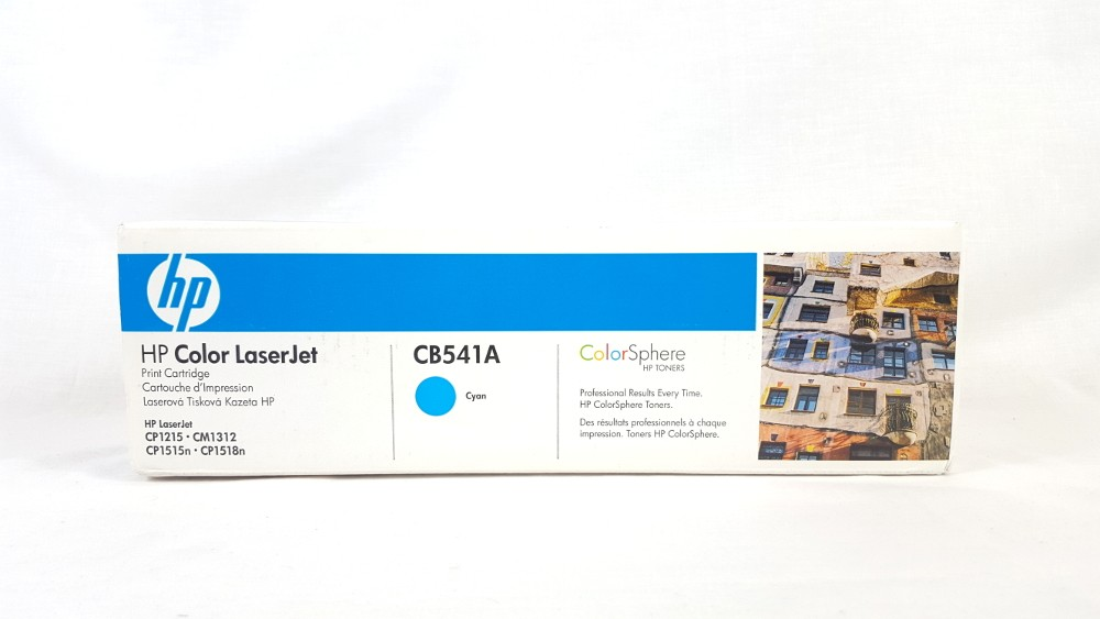 Genuine HP 125A Cyan Toner Cartridge (CB541A)