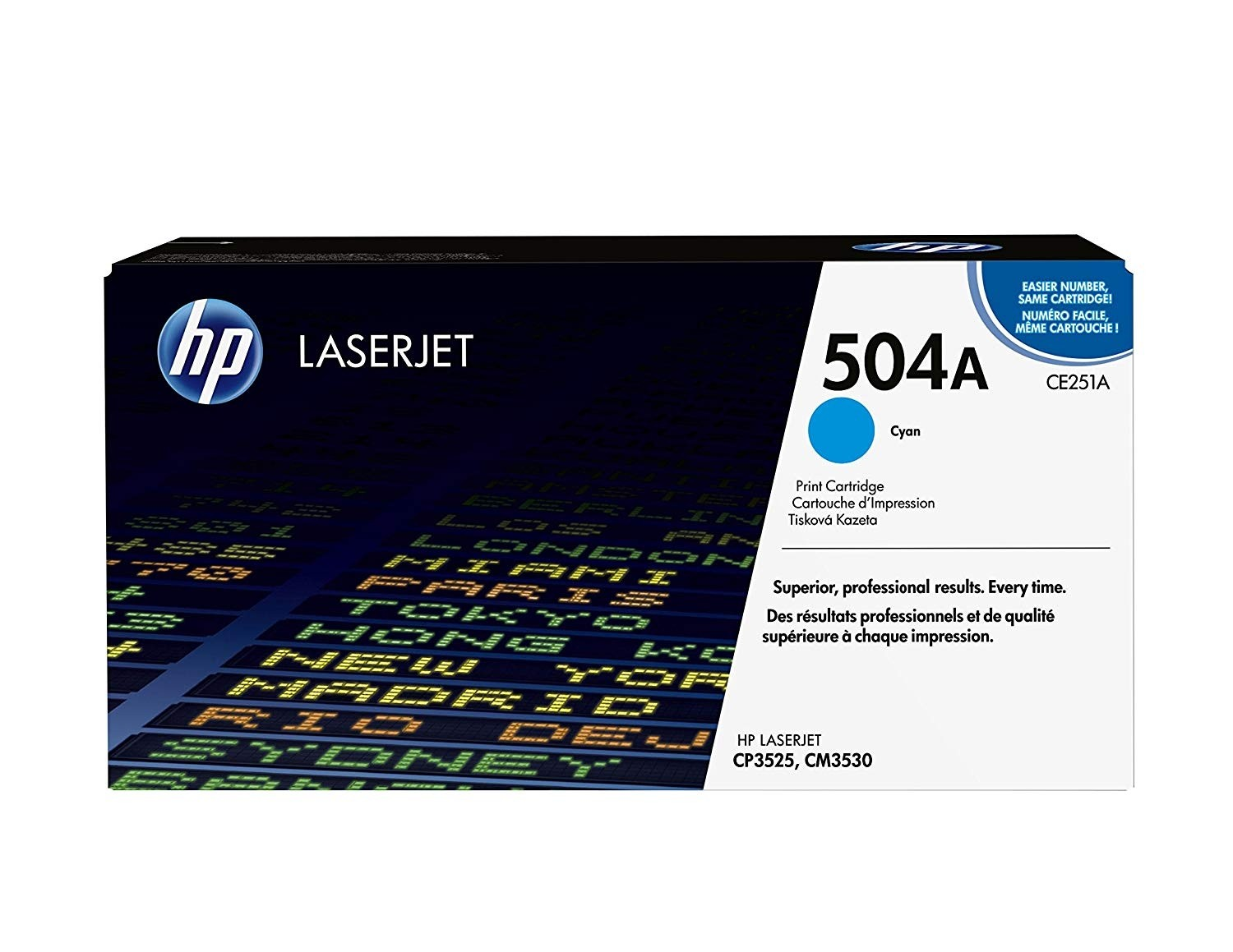 Genuine HP CE251A Cyan Toner Cartridge (CE251A)