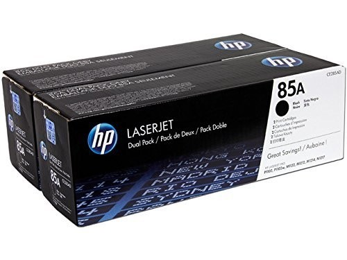 Genuine HP 85A Toner Cartridge Twin Pack (CE285AD)