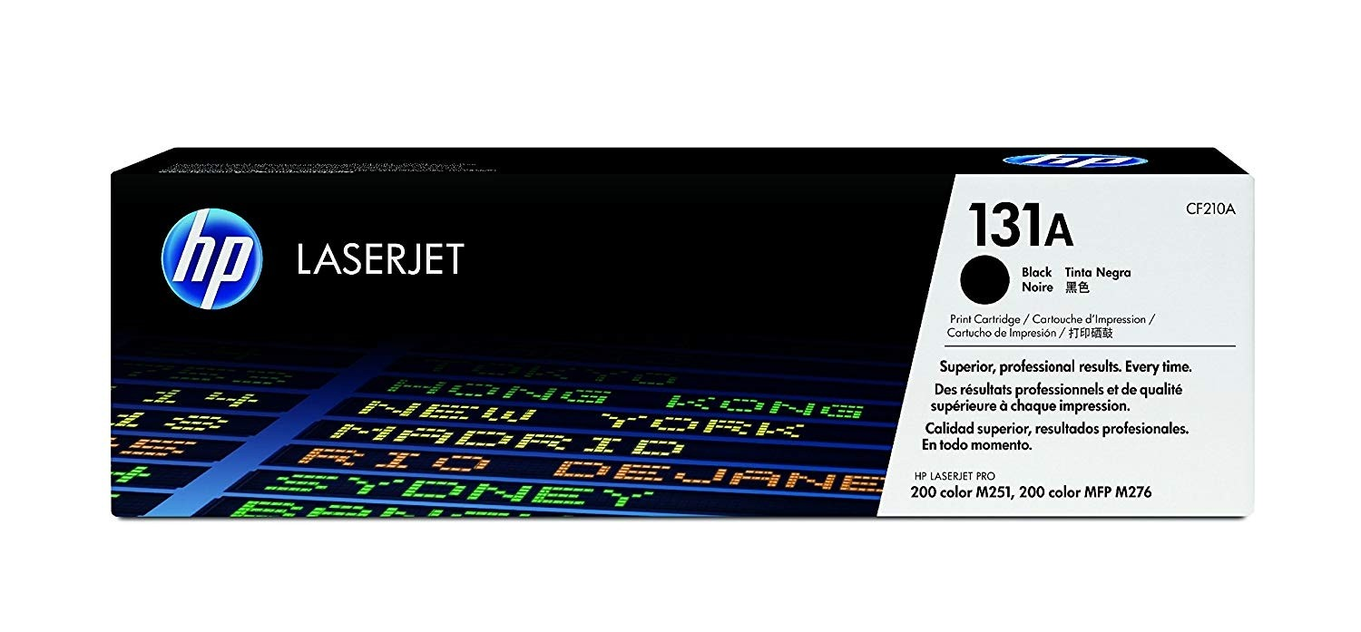 Genuine HP 131A Black Toner Cartridge (CF210A)