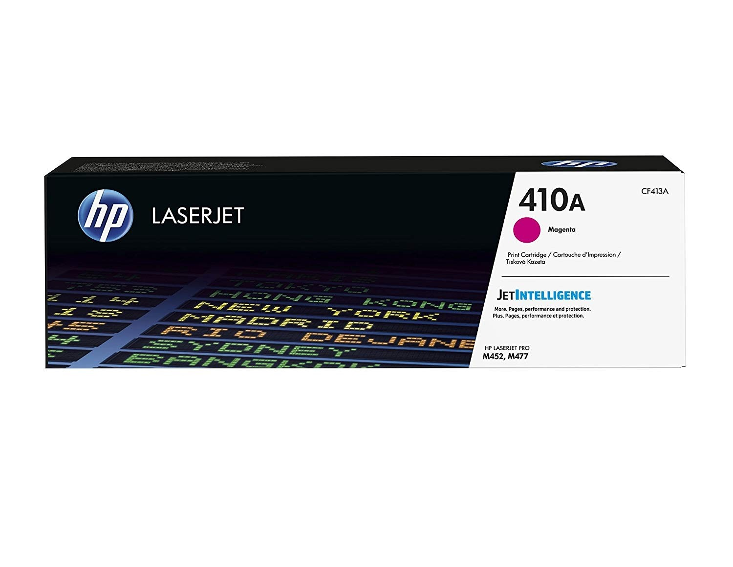 Genuine HP 410A Magenta Original LaserJet Toner Cartridge (CF413A)