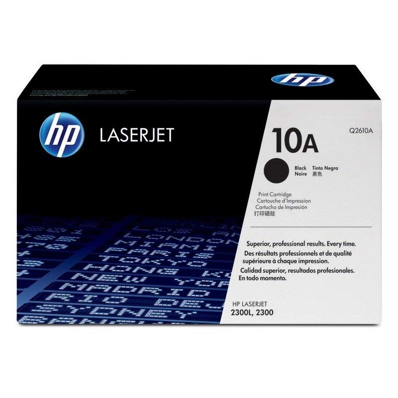 Genuine HP 10A Black Toner Cartridge (Q2610A)