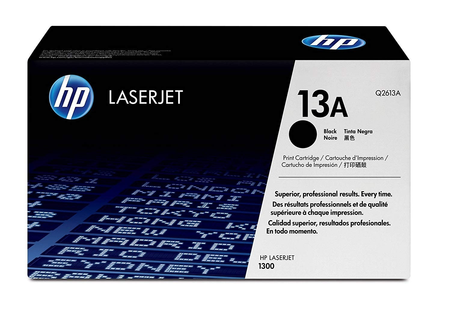 Genuine HP 13A Black Toner Cartridge (Q2613A)