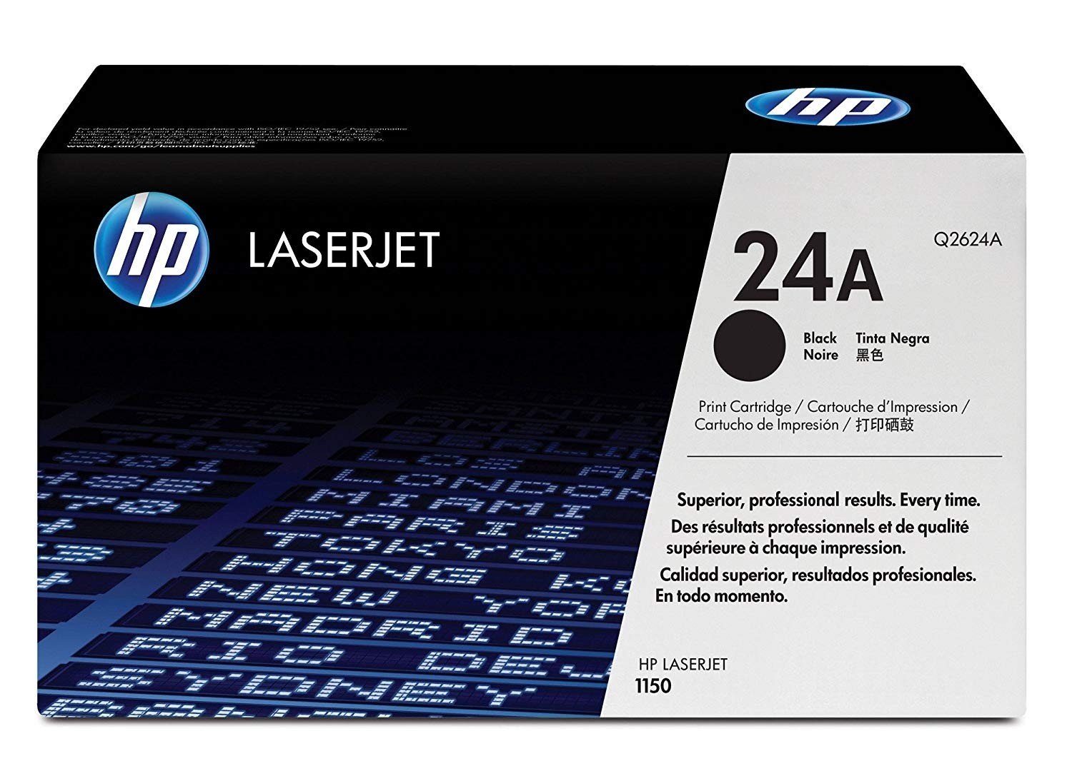 Genuine HP 24A Black Toner Cartridge (Q2624A)