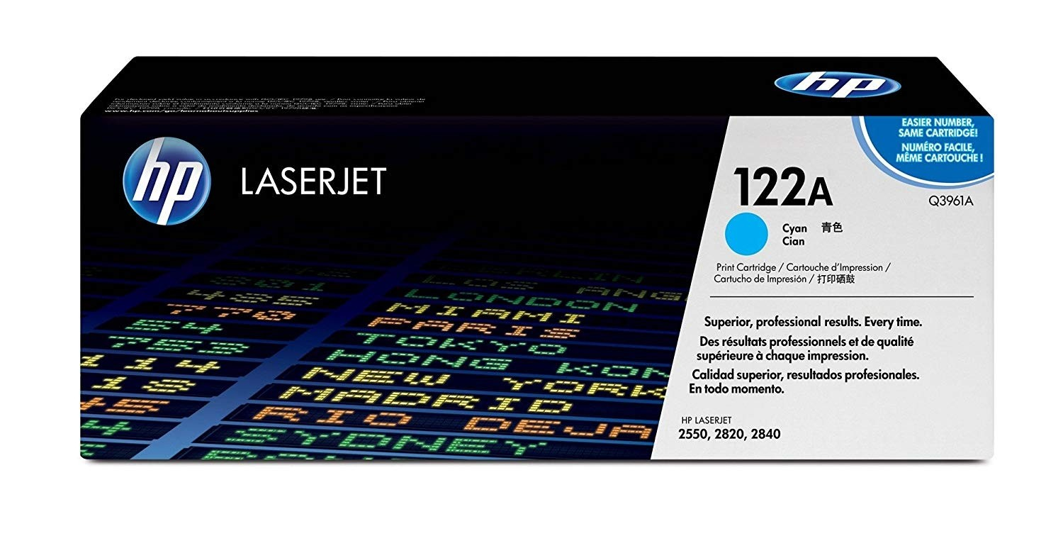 Genuine HP Q3961A Cyan Toner Cartridge (Q3961A)