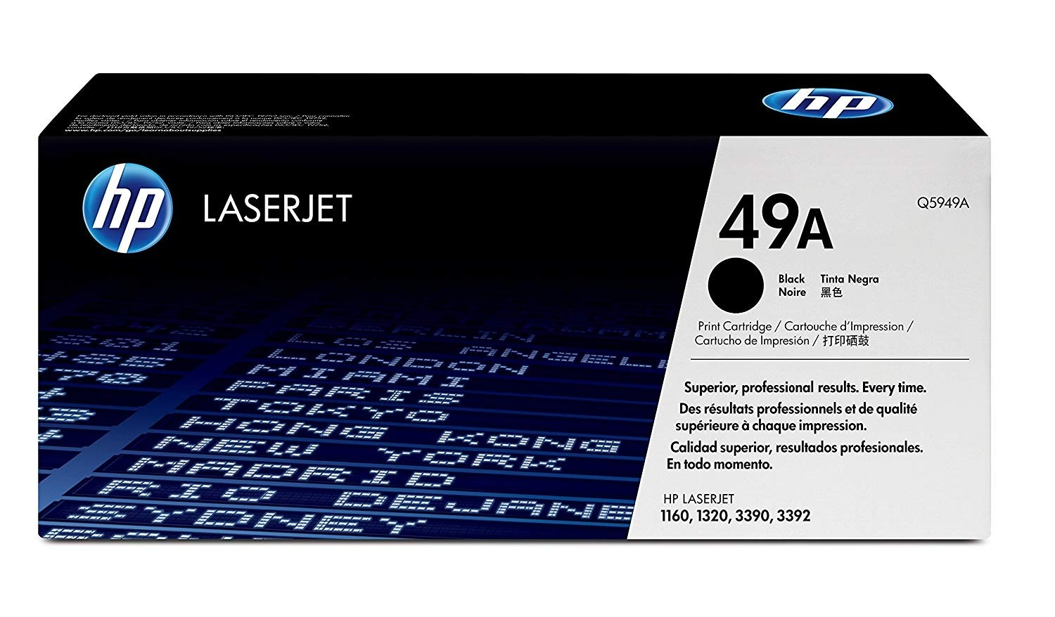 Genuine HP 49A Black Toner Cartridge (Q5949A)