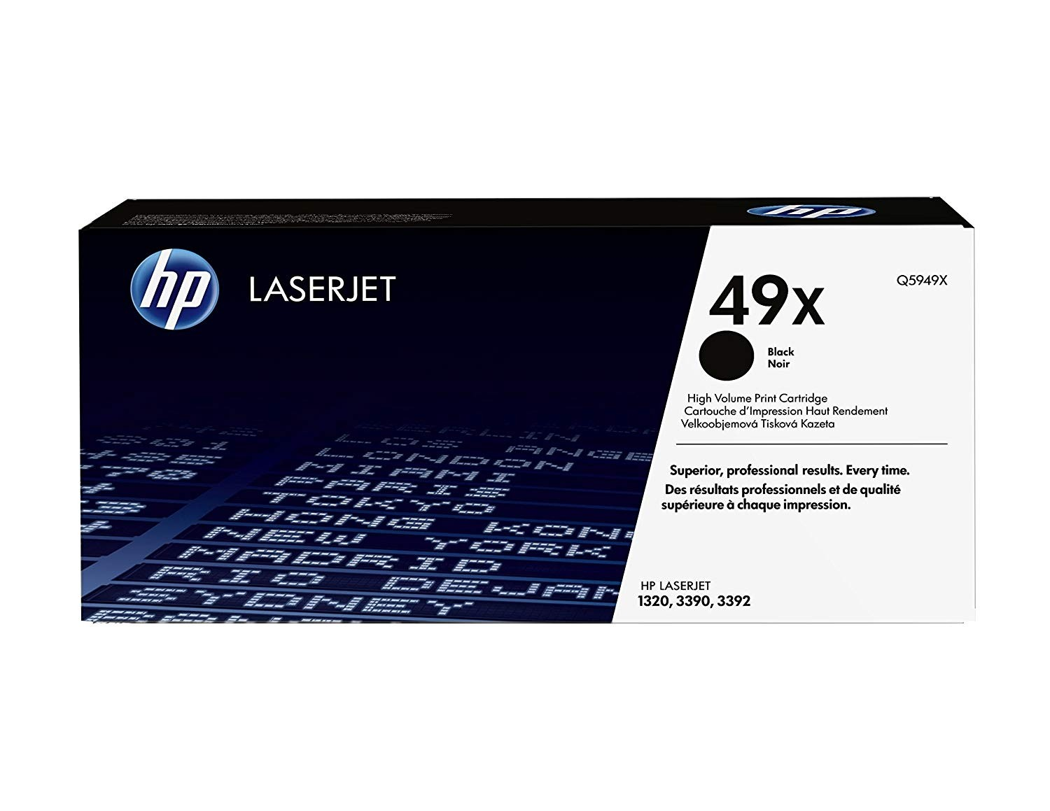 Genuine HP 49X High Capacity Black Toner Cartridge (Q5949X)