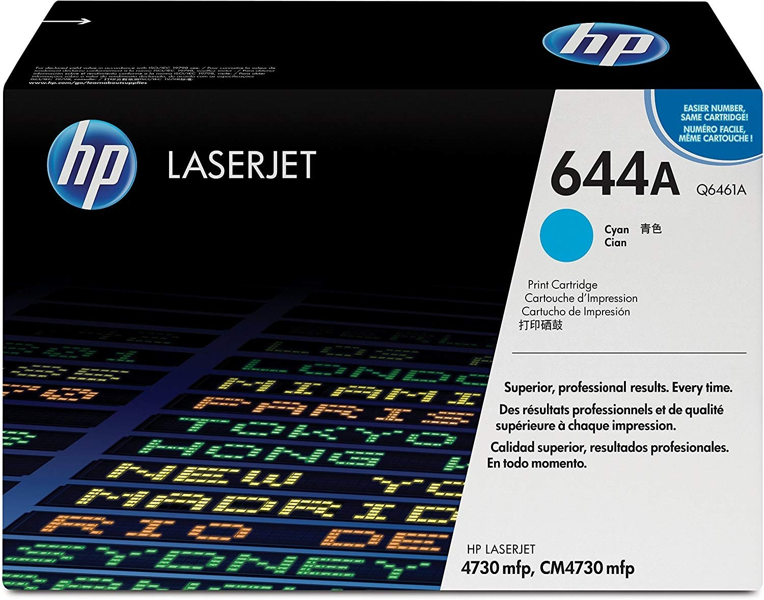 Genuine HP Q6461A Cyan Toner Cartridge (Q6461A)