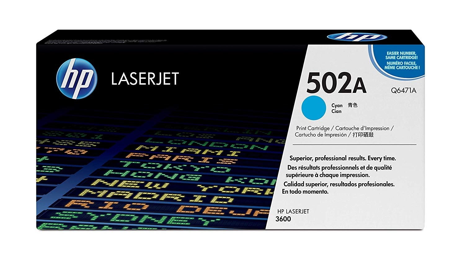 Genuine HP Q6471A Cyan Toner Cartridge (Q6471A)