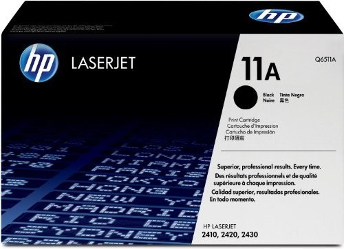 Genuine HP 11A Black Toner Cartridge (Q6511A)