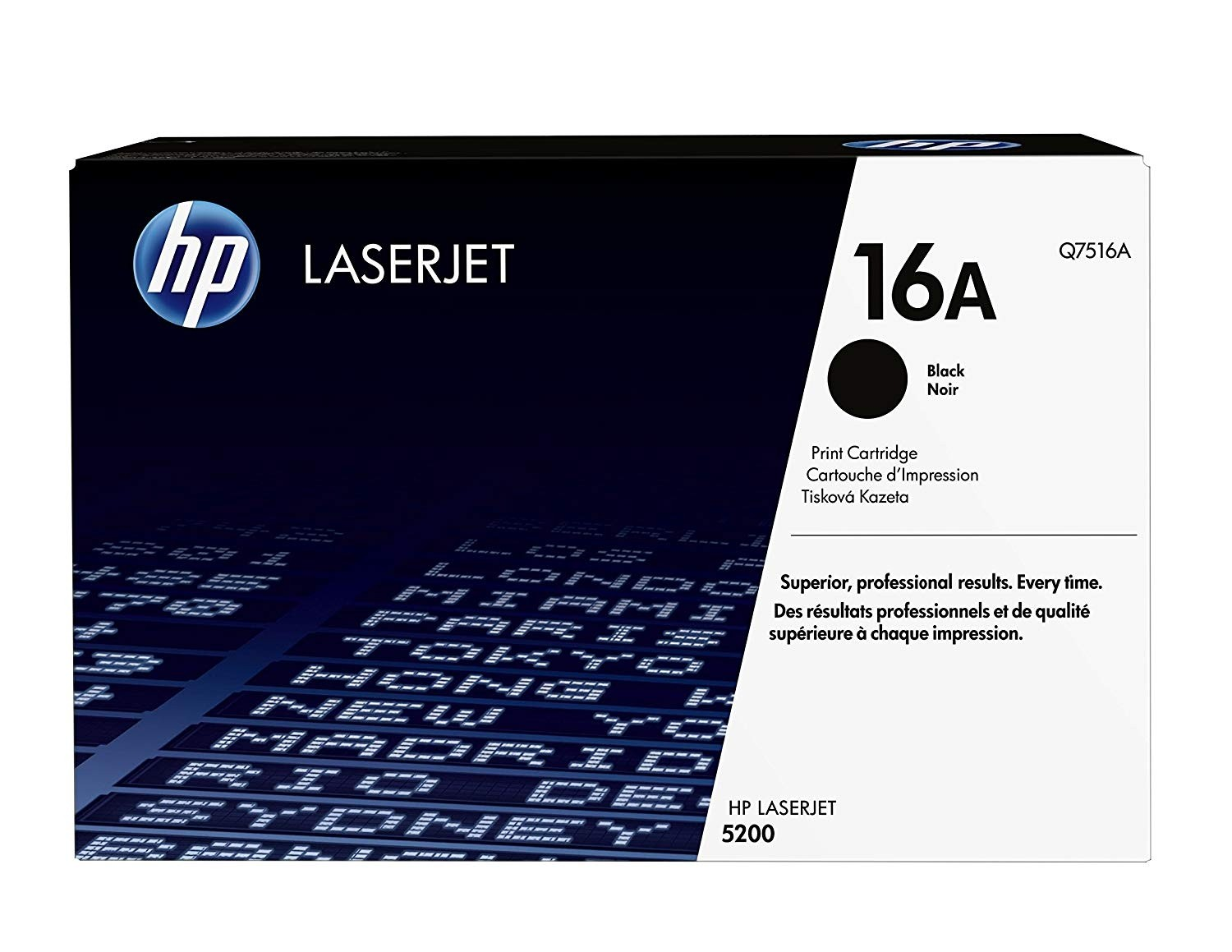 Genuine HP 16A Black Toner Cartridge (Q7516A)