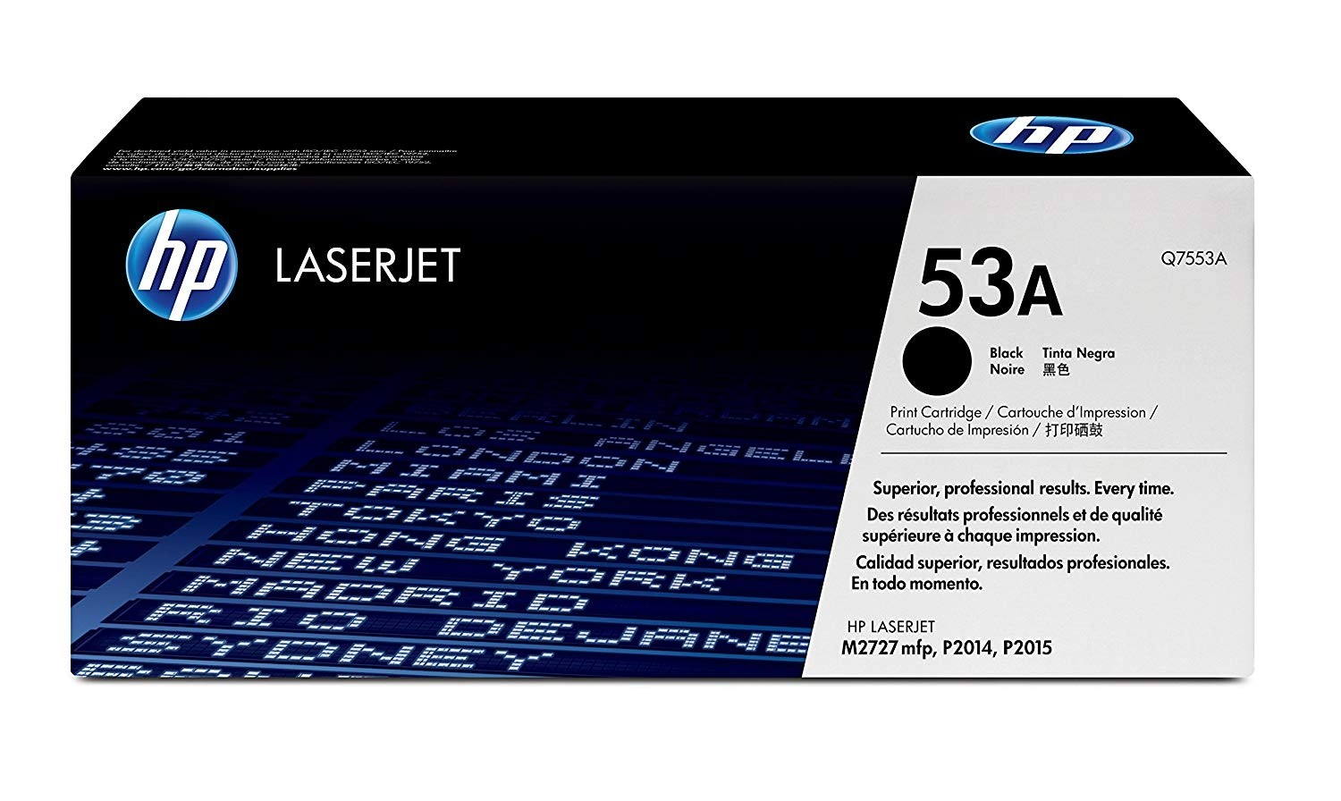 Genuine HP 53A Black Toner Cartridge (Q7553A)