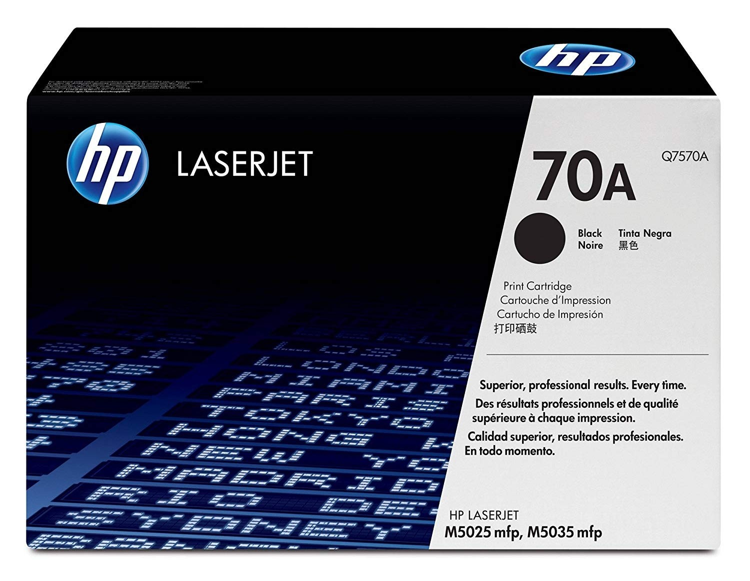 Genuine HP 70A Black Toner Cartridge (Q7570A)