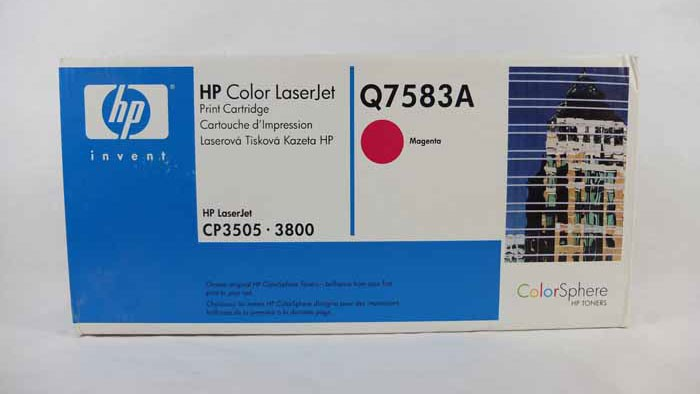 Genuine HP Q7583A Magenta Toner Cartridge (Q7583A)